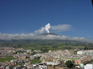 Volcán Galeras, Pasto, Colombia (Wikipedia Commons)