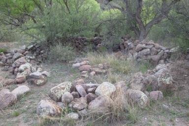 Rock Corral in Rock Corral Canyon, Tumacacori Mountains, Arizona