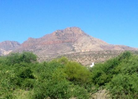 Tumacácori Peak in the Tumacácori Mountains of Southern Arizona